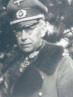 Hartwig von Ludwiger Military officer of World War II