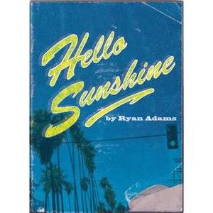 Hello Sunshine (book) - Hello Sunshine's working cover