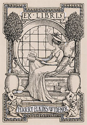 Harry Elkins Widener - Image: Hew bookplate