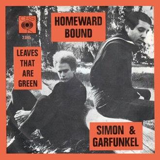 Homeward Bound (song) - Image: Homeward Bound cover