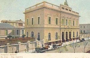 Hospital Italiano de Buenos Aires - Main building of the Hospital.