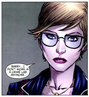 Image from Patty Spivot first in The New 52