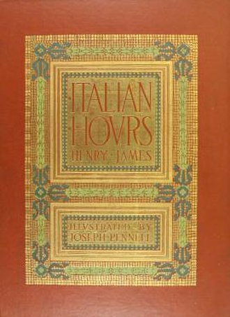Italian Hours - First US edition