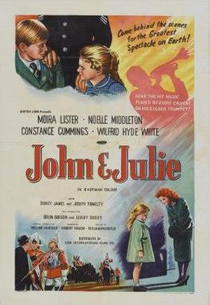 John and Julie - Image: John and Julie Film Poster