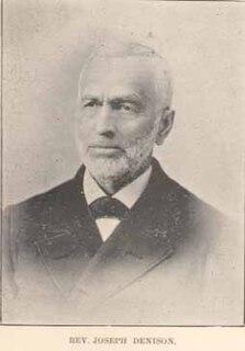 American Methodist pastor
