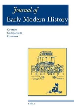 Journal of Early Modern History - Image: Journal of Early Modern History