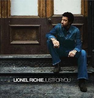 <i>Just for You</i> (Lionel Richie album) Album by Lionel Richie