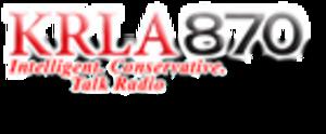 KRLA - Former KRLA logo