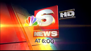 KTAL-TV - NBC 6 News current 6PM news open, used since June 27, 2012.