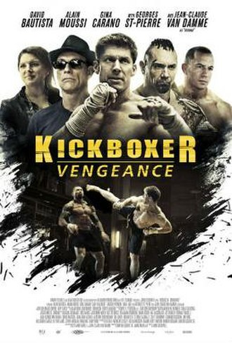 Kickboxer: Vengeance - Theatrical release poster