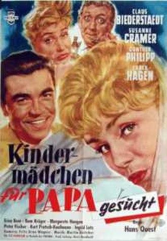 Kindermädchen für Papa gesucht - Film poster