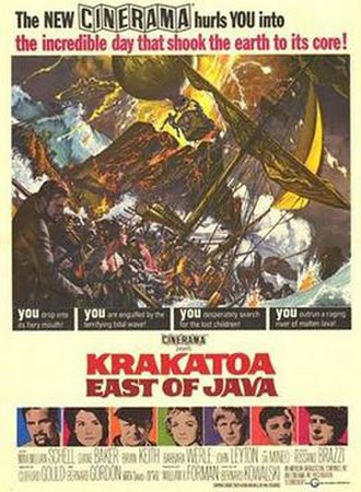 Krakatoa, East of Java - Theatrical release poster