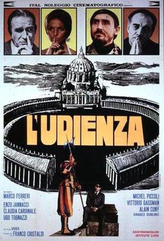 L'udienza - Film poster