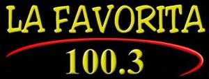 KMAK - Image: La Favorita 100.3 logo