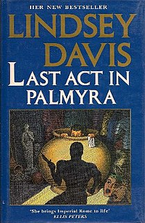 <i>Last Act in Palmyra</i> book by Lindsey Davis
