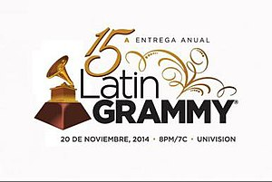 15th Annual Latin Grammy Awards - Image: Latin Grammy Awards of 2014 logo