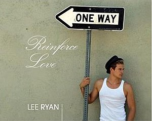 Reinforce Love - Image: Lee Ryan Reinforce Love Single Cover