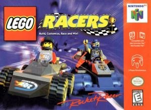 Lego Racers (video game) - North American Nintendo 64 cover art