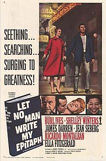 <i>Let No Man Write My Epitaph</i> 1960 film by Philip Leacock