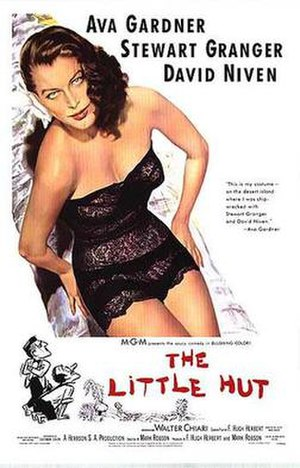 The Little Hut - Theatrical release poster