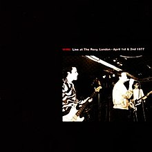 Live at the Roxy, London - April 1st & 2nd 1977 front cover.jpg