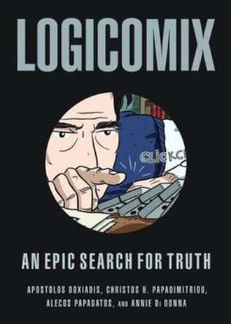 Logicomix - Cover to the 2009 English-language edition from Bloomsbury