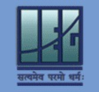 Institute of Economic Growth - Image: Logo of The Institute of Economic Growth