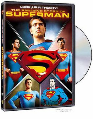 Look, Up in the Sky: The Amazing Story of Superman - Image: Look, Up in the Sky The Amazing Story of Superman, DVD boxart
