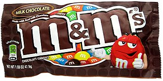 M&M's - Image: M&Ms Wrapper Small
