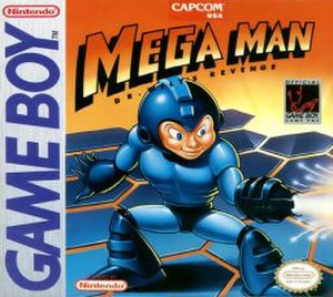 Mega Man: Dr. Wily's Revenge - North American cover art
