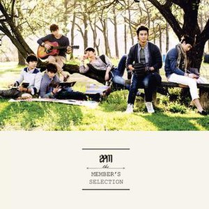 2PM Member's Selection - Image: Members Selection cover
