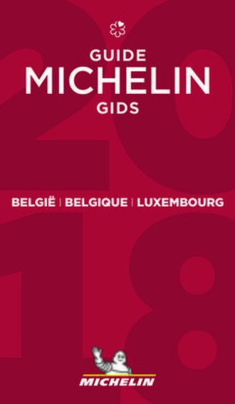 Michelin Guide - Cover of a 2018 Michelin Guide