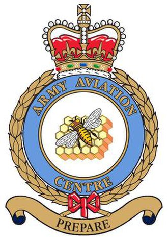 AAC Middle Wallop - Image: Middle Wallop Army Aviation Centre Badge