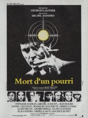 Death of a Corrupt Man - French film poster