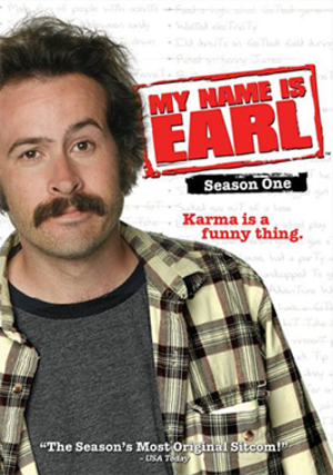 My Name Is Earl (season 1) - DVD cover