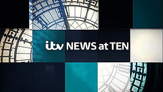ITV News at Ten - ITV News at Ten opening sequence