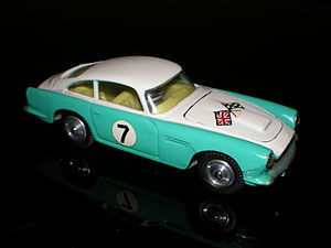 Corgi Toys - 309 Aston Martin DB4 Competition Model