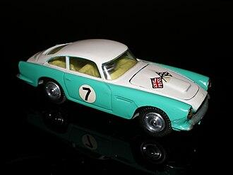 Corgi Toys - 309 Aston Martin DB4 Competition Model