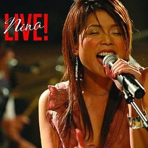 Nina Live! - Image: Nina Live! album cover front