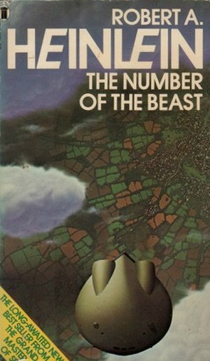 The Number of the Beast (novel) - First paperback edition cover