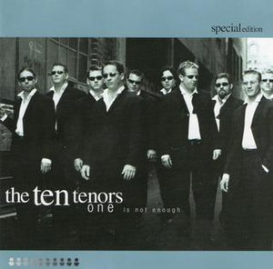 Untied (album) - Image: One is Not Enough by The Ten Tenors