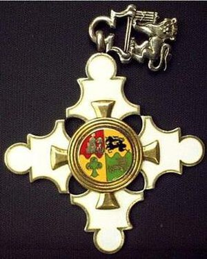 Order for Meritorious Service - Image: Order for Meritorious Service, Gold
