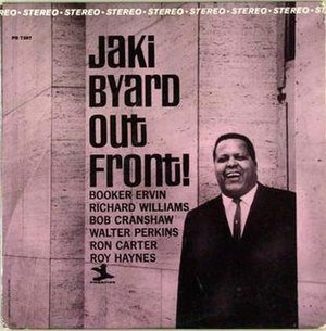 Out Front! (Jaki Byard album) - Image: Out Front!