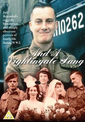 And a Nightingale Sang - DVD cover of And a Nightingale Sang
