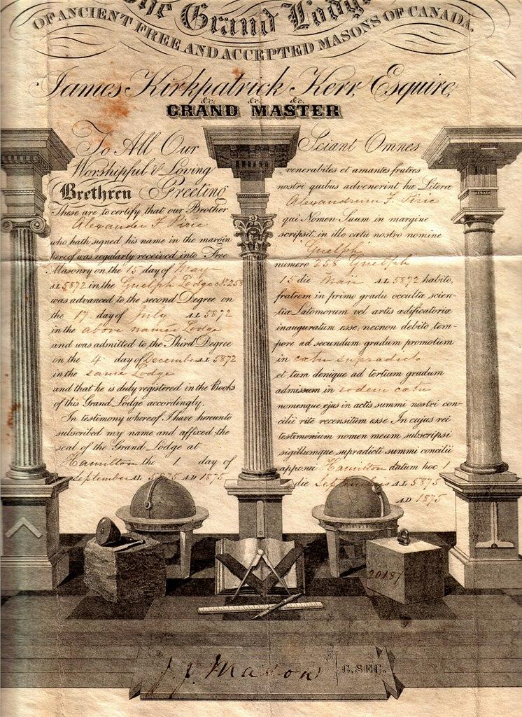 File pirie a f 1875 masonic wikipedia for Masonic certificate template
