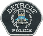 Patch of the Detroit Police Department