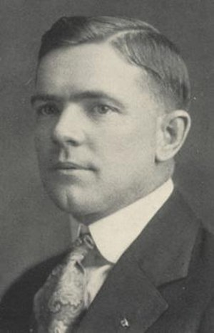 "Paul ""Billy"" Williams - Williams pictured in Orient 1925, Ball State yearbook"