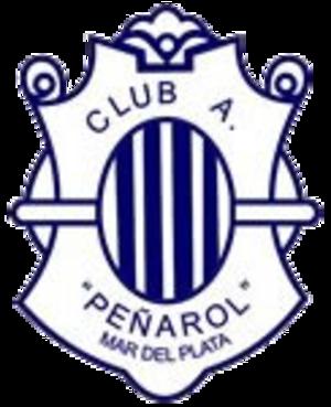 Club Atlético Peñarol (Mar del Plata) - Image: Penarol mardel crest