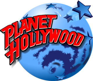 Planet Hollywood North American company of theme restaurants inspired by North American cinema
