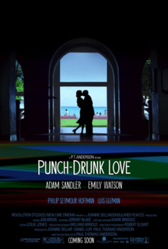 Punch-Drunk Love - Theatrical release poster